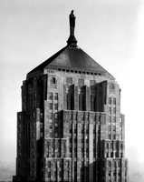 Top of the Chicago Board of Trade building (HBSN-00857-A)